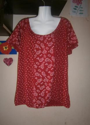 Новая блуза tu 56-60 размер
