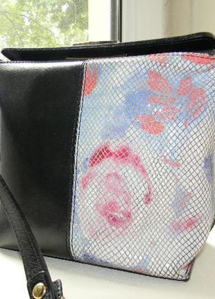 Итальянская сумочка из натуральной кожи