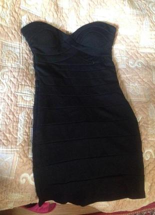 Бандажное платье tally weijl