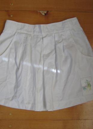 Юбка котоновая 12-14 размер бренд недорого