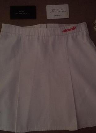Белая юбка adidas