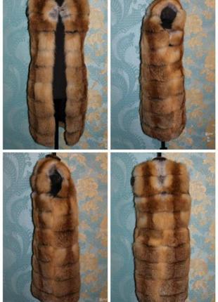 лисья жилетка фото
