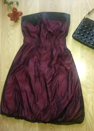 Крутое коктейльное  платье  бренда reserved