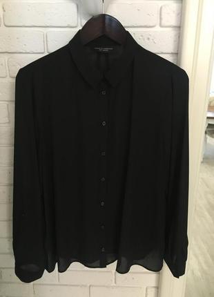 Чёрная блуза, l