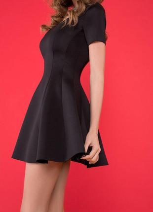 Новое платье беби-долл с подтягивающим эффектом marani черное размер м