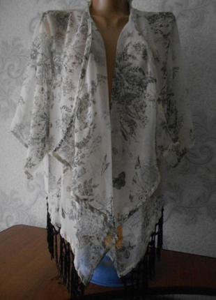Блузка - кимано l - xl идеальное состояние