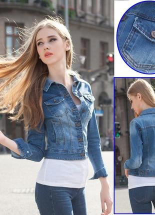 Джинсовый пиджак/джинсовая куртка next.