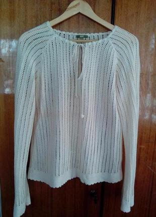Ажурна кофта/блуза