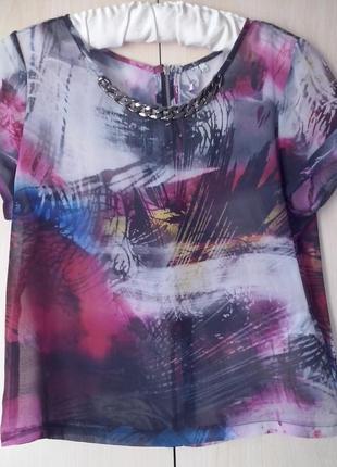 Актуальная блуза (лучше на худышку как оверсайз)