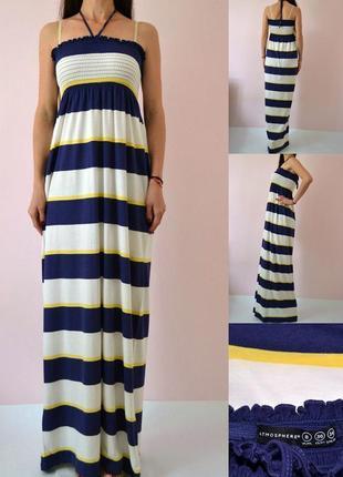 Трикотажное платье в пол 8(s-m)