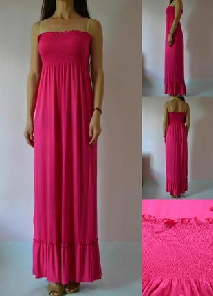 Трикотажное платье в пол 10(s-m)