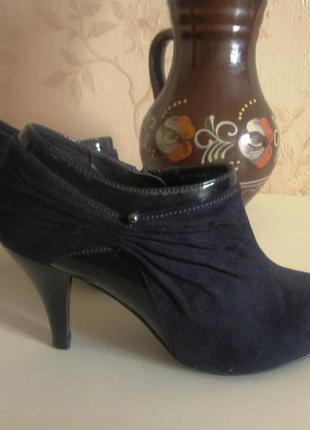 Ботильоны ботинки женские marks&spencer
