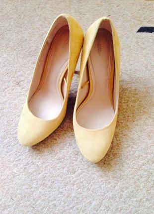 Туфли стильные zara