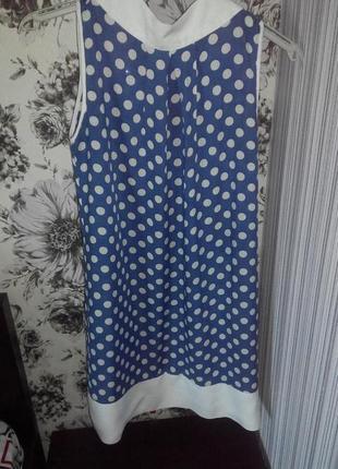 Новое платье в горошек