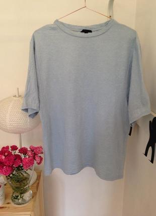 Блуза футболка свободная topshop