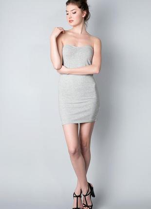 Платье-бандо h&m