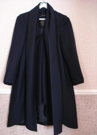Заравское шерстяное весеннее осеннее пальто