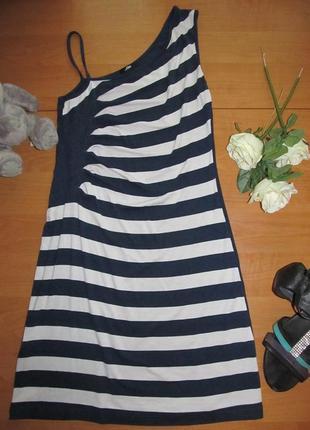 Красивое платье в морском стиле фирмы jet