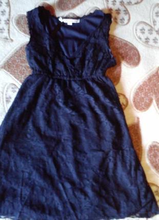 Платье гипюр tally weijl