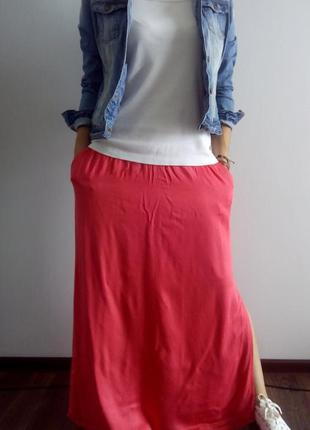Идеальная базовая джинсовая куртка с потертостями denim co размер m-l