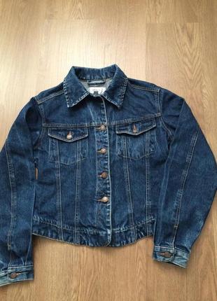 Джинсовый пиджак некст