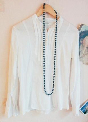 Белоснежная блуза reserved