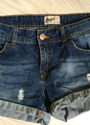 Крутые джинсовые шорты bershka