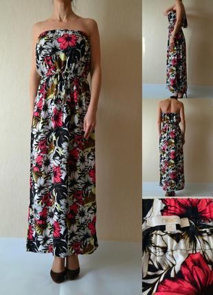 Платье в пол m(12)