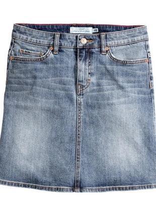 Юбка джинсовая h&m размер 40 (м)