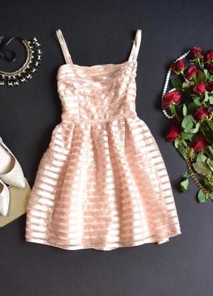 Нежное короткое платье от h&m1