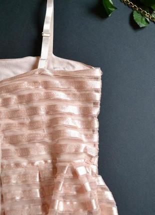 Нежное короткое платье от h&m2