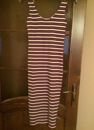 Платье летнее в полосочку