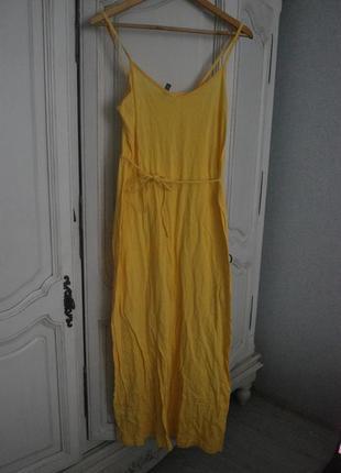 Макси платье h&m