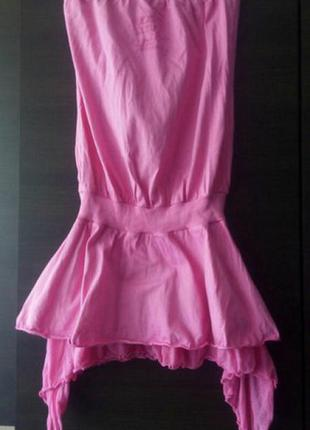 Коротенькое интересное платье