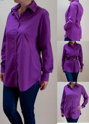 Удлиненная рубашка от joop размер l (❤акция 1+1=3)