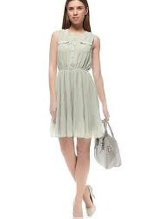Милое платьице с плиссировкой