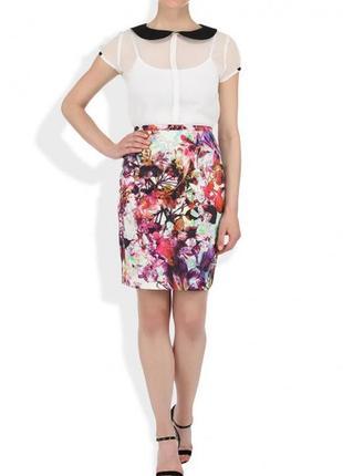 Прозрачная блуза camelot
