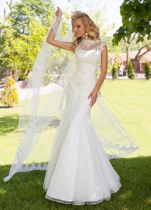 Свадебное платье от дизайнера оksana mukha