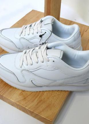 Mango, кожаные кроссовки, р. 37,38