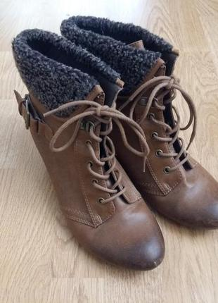 Ботинки на осень marks&spencer limited collection