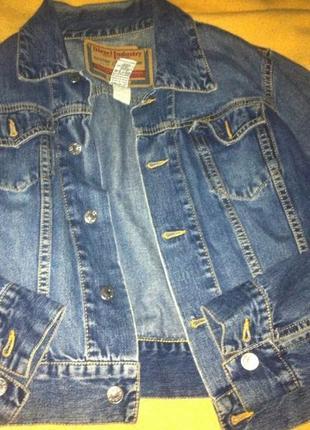 Джинсовая куртка/курточка/джинсовка diesel