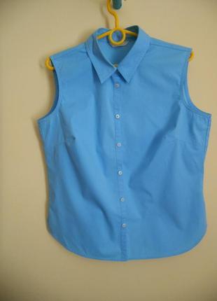 Рубашка (блуза) без рукавів marks&spencer