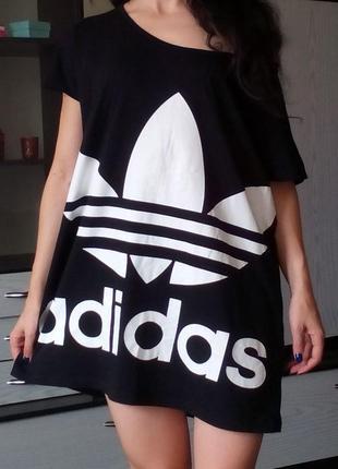 Пляжная туника adidas платье