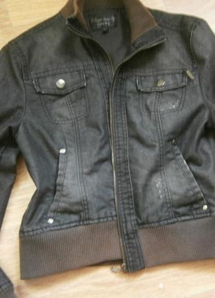 Куртка джинсовая stradivarius