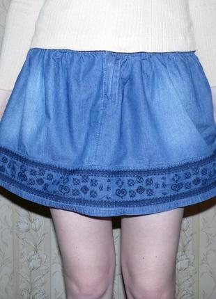 Нереальная джинсовая юбочка! bershka
