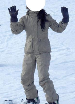 Горнолыжный/сноубордистский костюм унисекс iguana+подарок!
