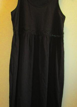 Платье h&m котон кружево размер s