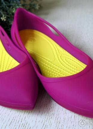 Новые балетки crocs