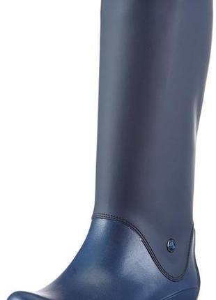 Резиновые сапоги crocs rain boot раз. us4 - 21см