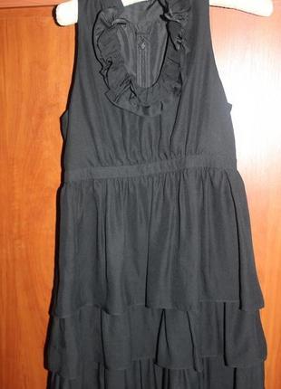 Шикарное шелковое платье massimo dutti